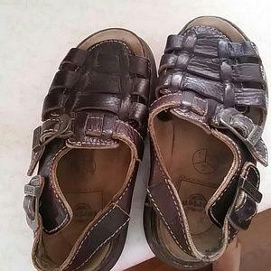 Dr Martens doc festival sandals buckle